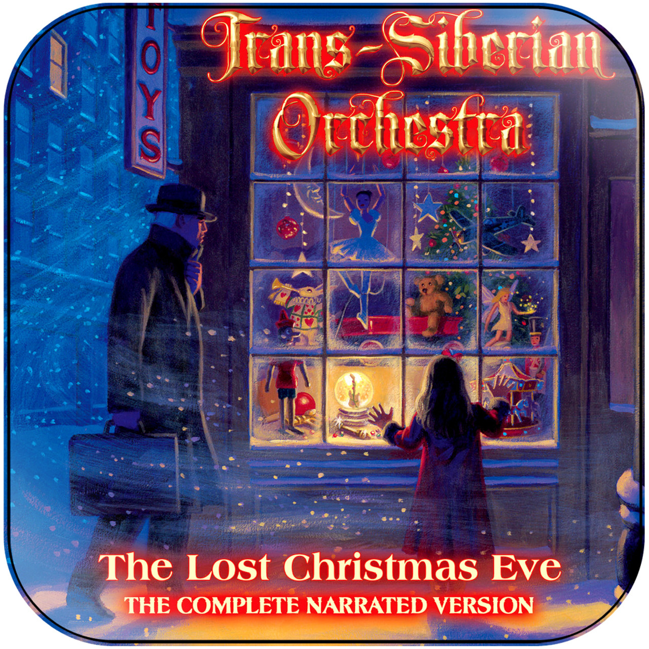 Trans Siberian Christmas.Trans Siberian Orchestra The Lost Christmas Eve 2 Album Cover Sticker