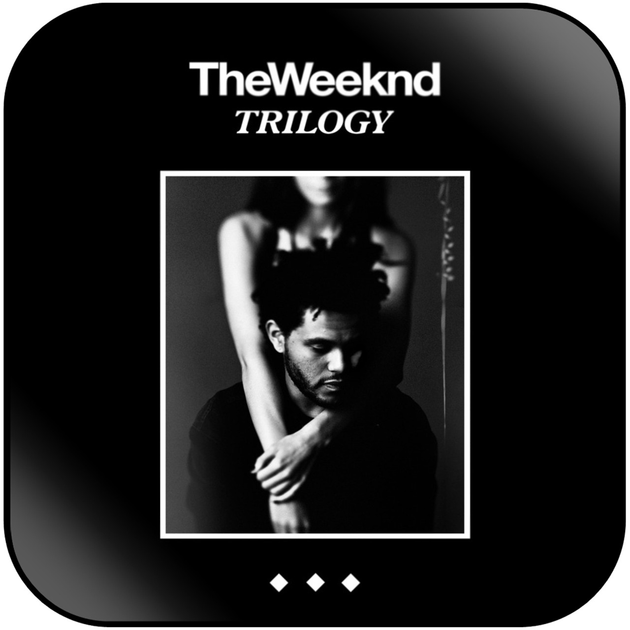 The Weeknd Trilogy Album Cover Sticker