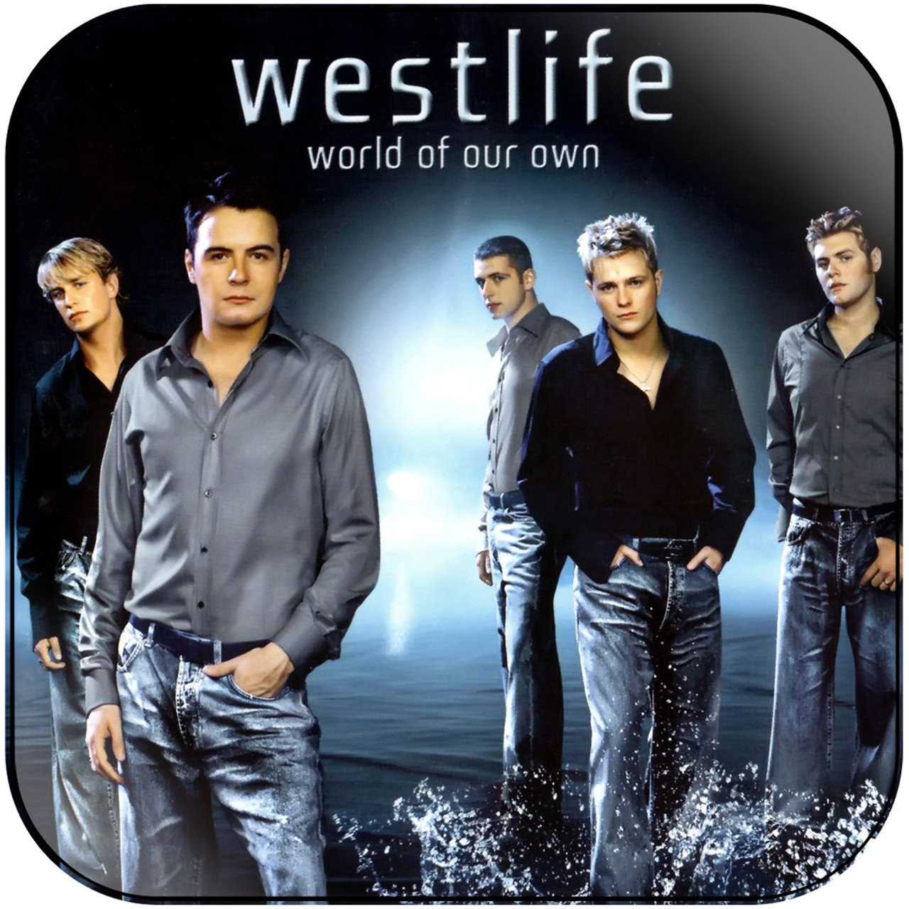 Westlife World Of Our Own Album Cover Sticker