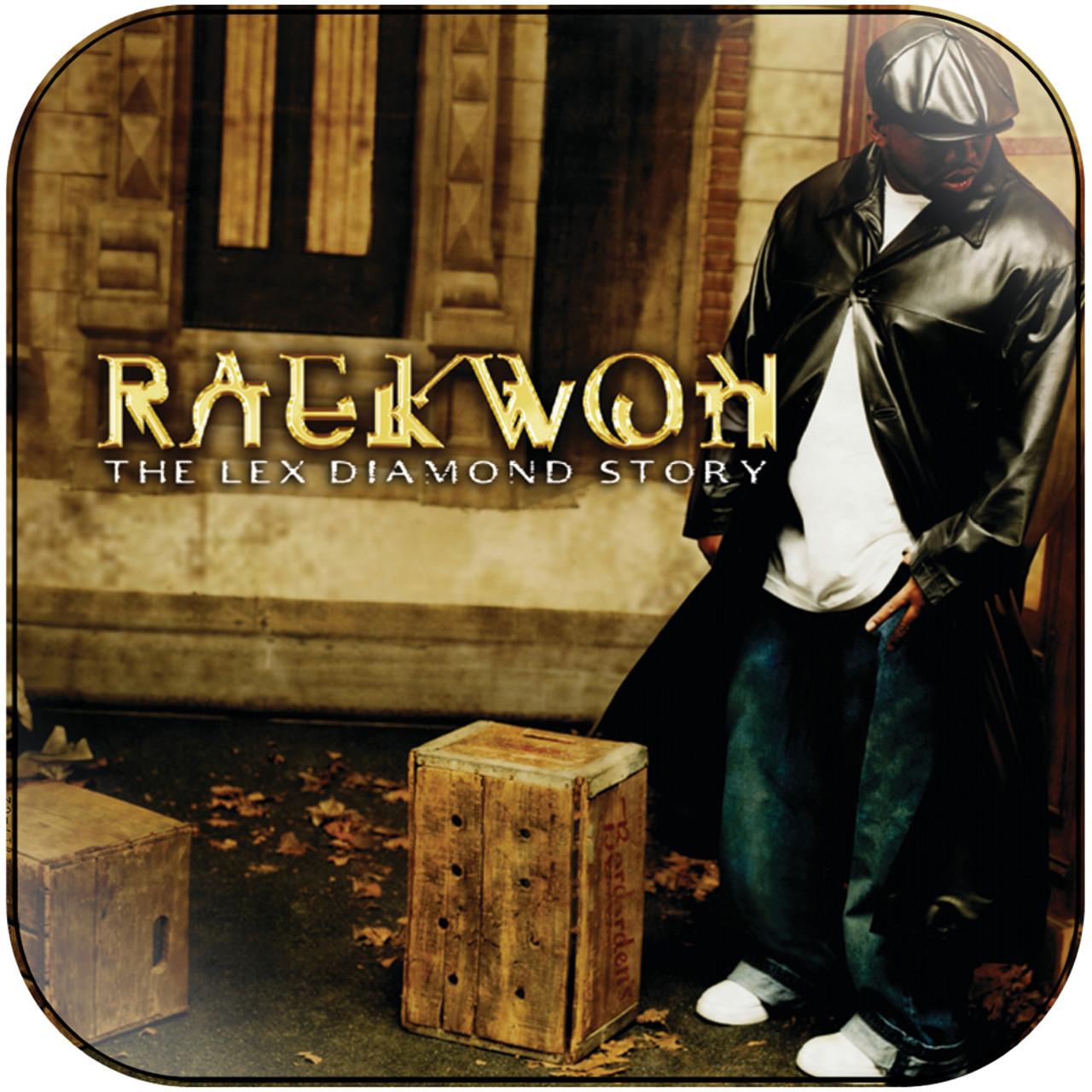 Raekwon - the lex diamond story Album Cover Sticker Album Cover Sticker