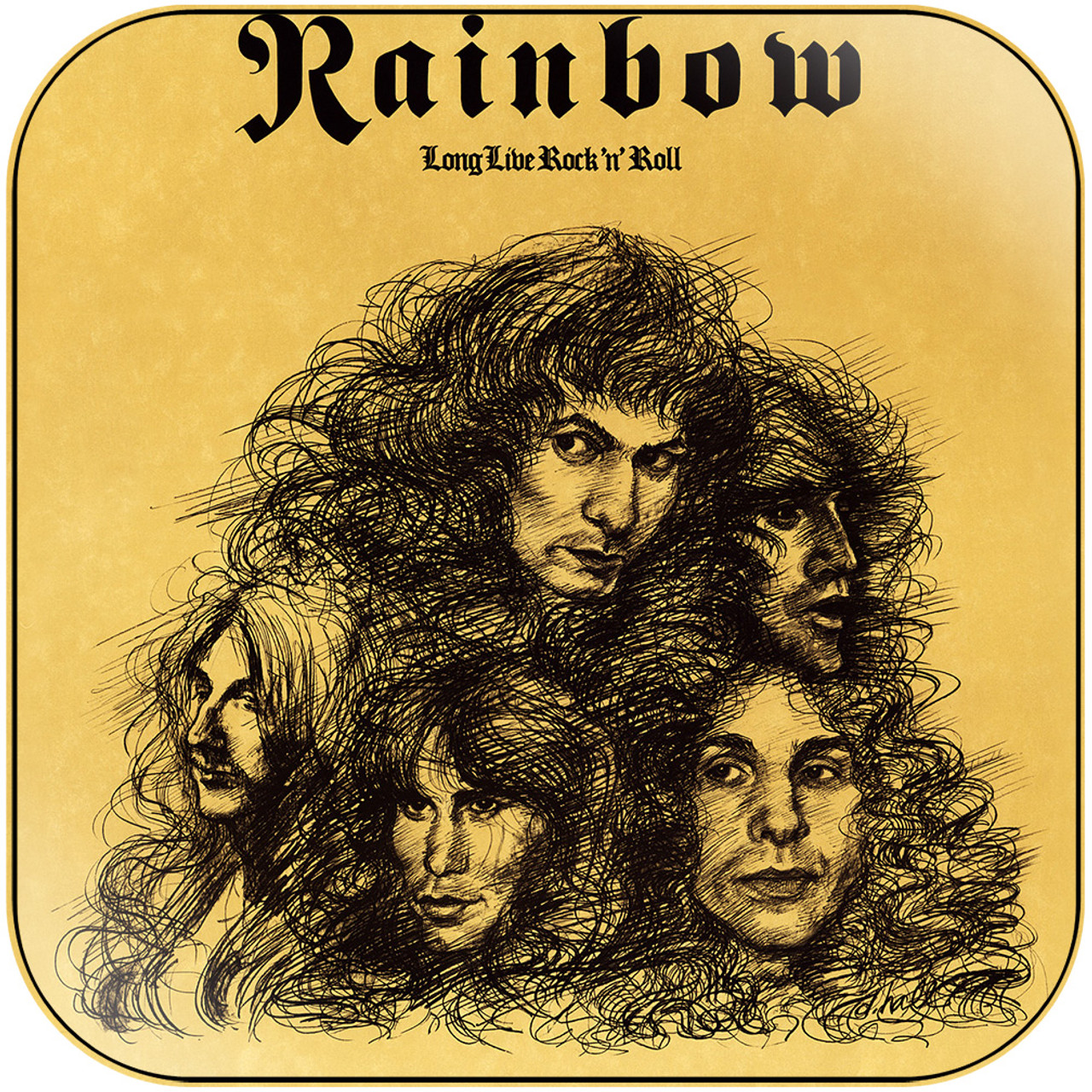 Rainbow - long live rock n roll-3 Album Cover Sticker Album Cover Sticker