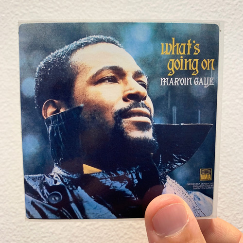 Marvin Gaye What's Going On Album Cover Sticker