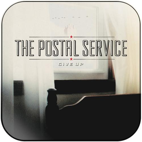 The Postal Service Give Up Album Cover Sticker Album Cover Sticker