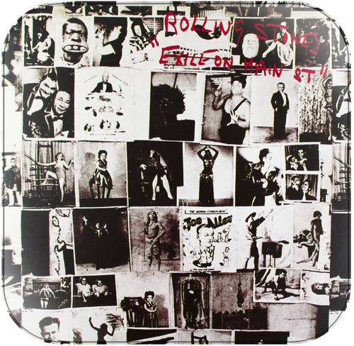 Rolling Stones Exile on Main Street Album Cover Sticker