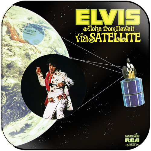 Elvis Presley Aloha From Hawaii Via Satellite-1 Album Cover Sticker Album Cover Sticker