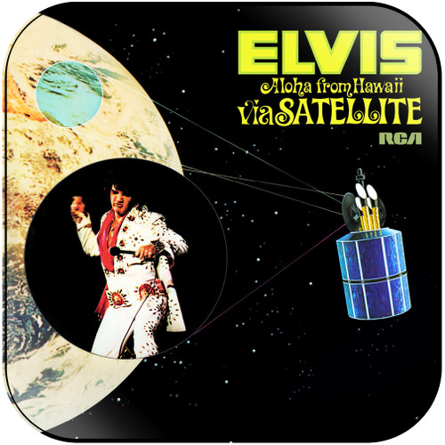 Elvis Presley Aloha From Hawaii Via Satellite-2 Album Cover Sticker Album Cover Sticker