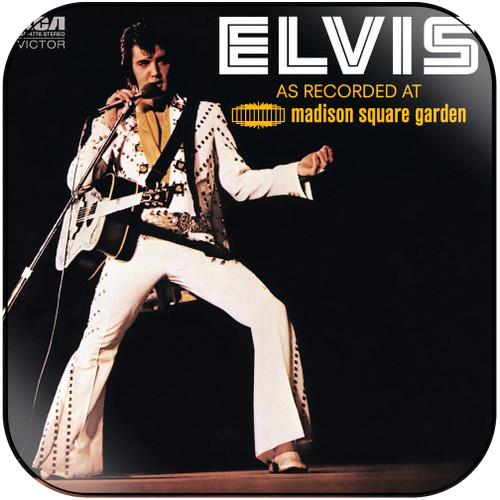 Elvis Presley As Recorded At Madison Square Garden Album Cover Sticker Album Cover Sticker