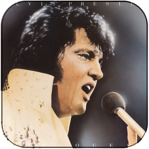 Elvis Presley By Request Album Cover Sticker Album Cover Sticker