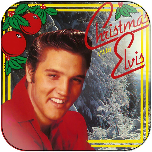Elvis Presley Christmas With Elvis Album Cover Sticker Album Cover Sticker