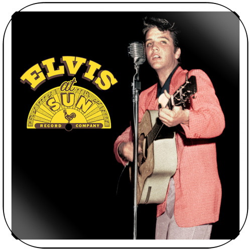 Elvis Presley Elvis At Sun Album Cover Sticker Album Cover Sticker