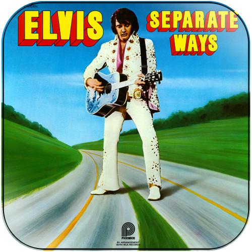 Elvis Presley Separate Ways Album Cover Sticker Album Cover Sticker