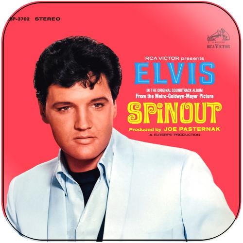 Elvis Presley Spinout Album Cover Sticker Album Cover Sticker