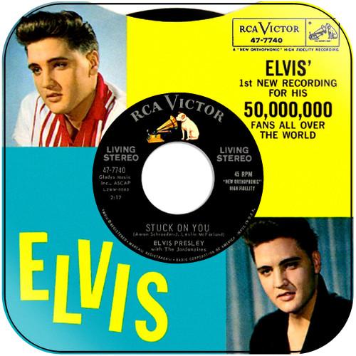 Elvis Presley Stuck On You Album Cover Sticker Album Cover Sticker