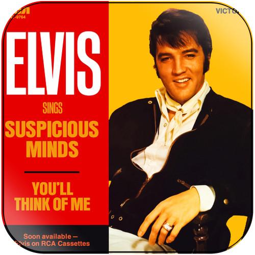 Elvis Presley Suspicious Minds Album Cover Sticker Album Cover Sticker
