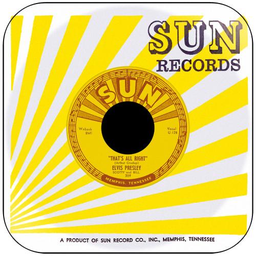 Elvis Presley Thats All Right Album Cover Sticker Album Cover Sticker