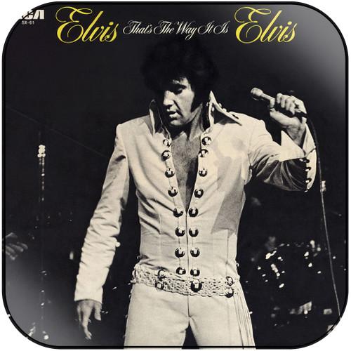 Elvis Presley Thats The Way It Is Album Cover Sticker Album Cover Sticker