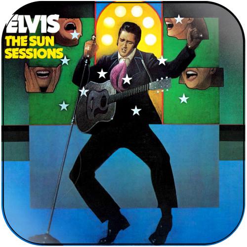 Elvis Presley The Sun Sessions Album Cover Sticker Album Cover Sticker