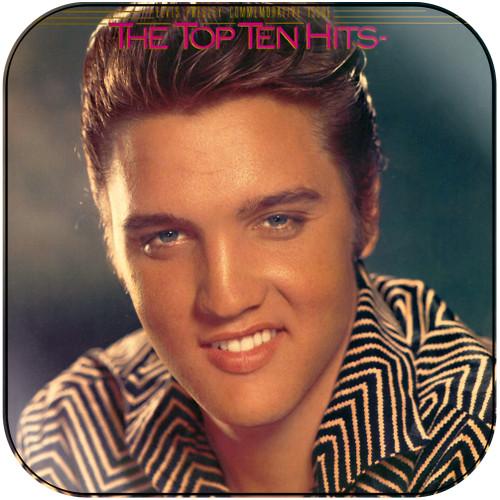 Elvis Presley The Top Ten Hits Album Cover Sticker Album Cover Sticker