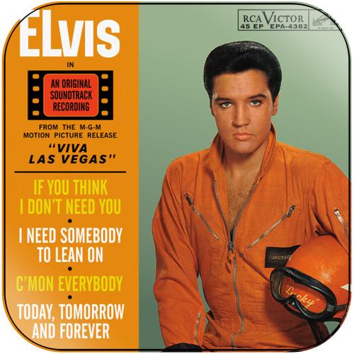 Elvis Presley Viva Las Vegas Album Cover Sticker Album Cover Sticker