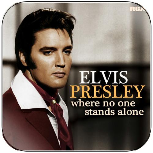Elvis Presley Where No One Stands Alone Album Cover Sticker Album Cover Sticker