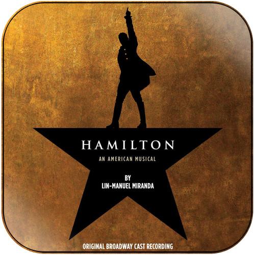 Musical Hamilton Original Broadway Cast Album Cover Sticker