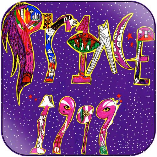 Prince 1999 Album Cover Sticker Album Cover Sticker