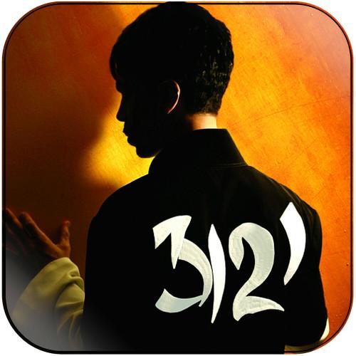 Prince 3121 Album Cover Sticker Album Cover Sticker