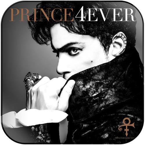 Prince 4Ever Album Cover Sticker Album Cover Sticker