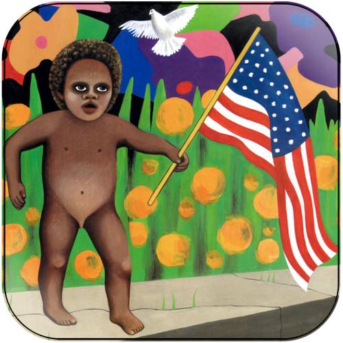 Prince America Girl Album Cover Sticker Album Cover Sticker