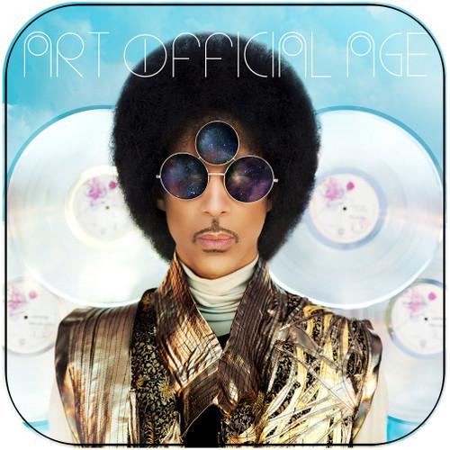 Prince Art Official Age Album Cover Sticker Album Cover Sticker