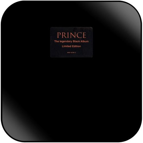 Prince Black Album Album Cover Sticker Album Cover Sticker