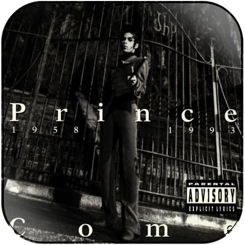 Prince Come Album Cover Sticker Album Cover Sticker