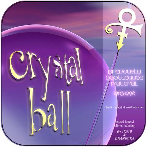 Prince Crystal Ball Album Cover Sticker Album Cover Sticker
