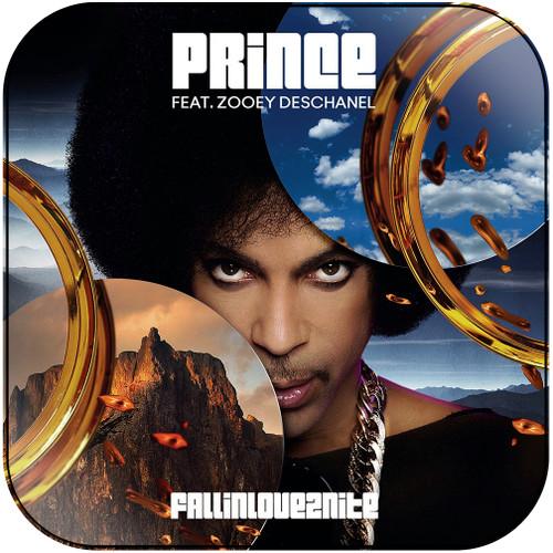 Prince Fallinlove2Nite Album Cover Sticker Album Cover Sticker