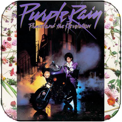 Prince Purple Rain-1 Album Cover Sticker Album Cover Sticker