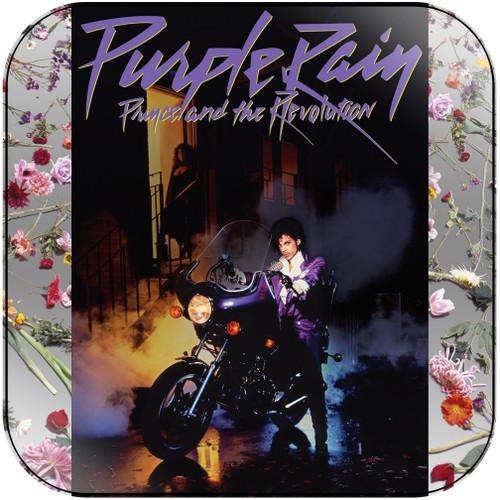 Prince Purple Rain-2 Album Cover Sticker Album Cover Sticker