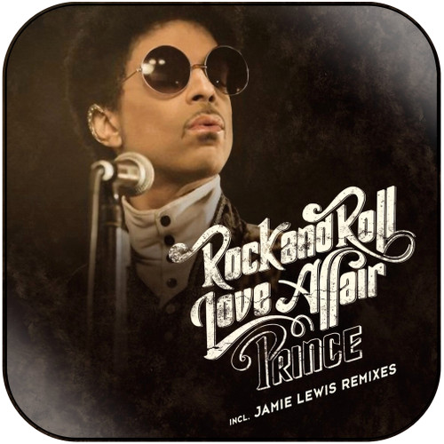 Prince Rock And Roll Love Affair Album Cover Sticker Album Cover Sticker
