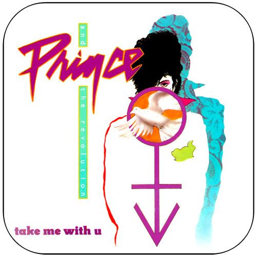 Prince Take Me With You Album Cover Sticker Album Cover Sticker