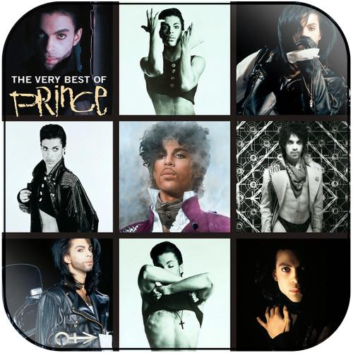 Prince The Very Best Of Prince-2 Album Cover Sticker Album Cover Sticker