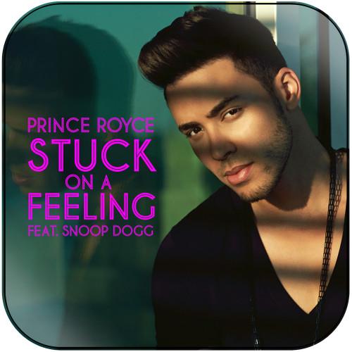 Prince Royce Stuck On A Feeling Album Cover Sticker Album Cover Sticker