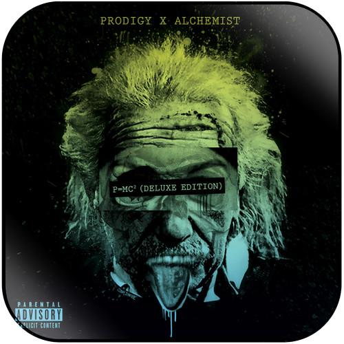 Prodigy Albert Einstein-2 Album Cover Sticker Album Cover Sticker