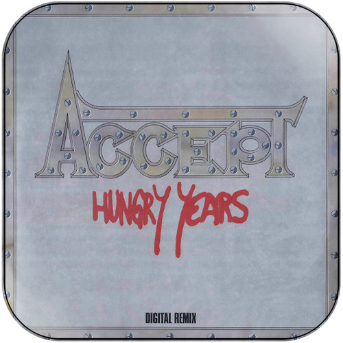 Accept Hungry Years Album Cover Sticker