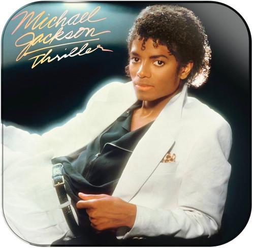 Michael Jackson Thriller Album Cover Sticker