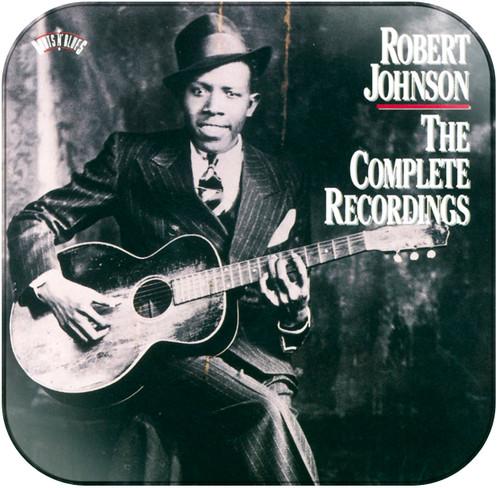 Robert Johnson The Complete Recordings Album Cover Sticker