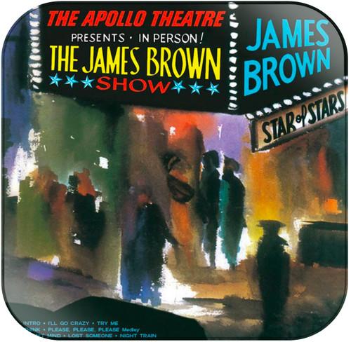 James Brown Live at the Apollo Album Cover Sticker