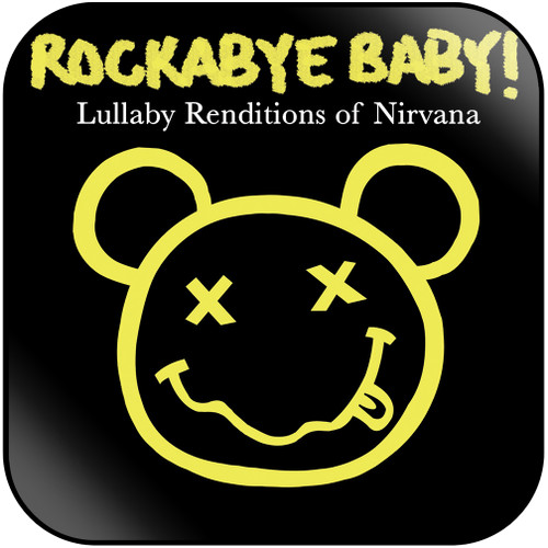 Michael Armstrong Rockabye Baby Lullaby Renditions Of Nirvana Album Cover Sticker Album Cover Sticker
