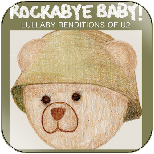 Michael Armstrong Rockabye Baby Lullaby Renditions Of U2 Album Cover Sticker Album Cover Sticker