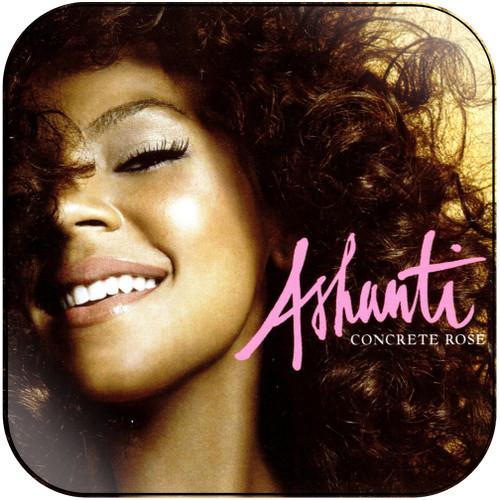 Ashanti Concrete Rose Album Cover Sticker Album Cover Sticker