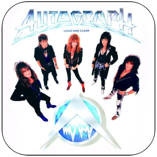 Autograph Loud And Clear Album Cover Sticker Album Cover Sticker