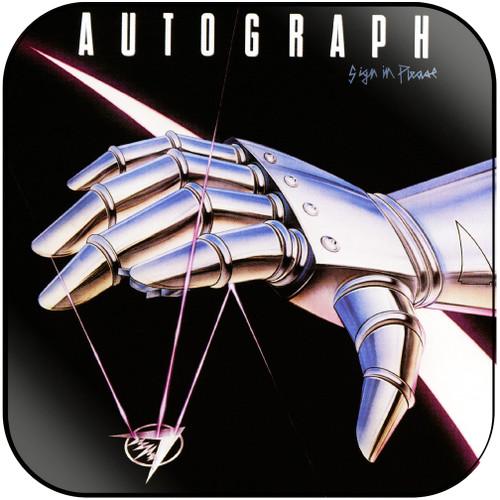 Autograph Sign In Please Album Cover Sticker Album Cover Sticker